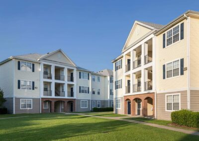 Exterior View of Buildings at Cadence at Southern University